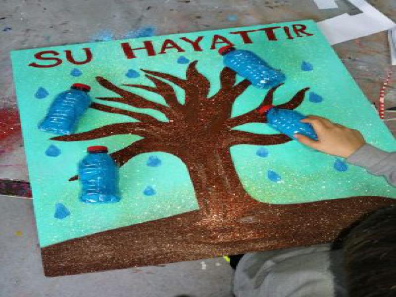 Su Hayattır Temalı Proje Çalışmalarımız